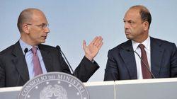 Gelo tra Letta e Alfano nel pranzo a palazzo Chigi. Letta: la decadenza di Berlusconi è un problema vostro. Governo a un pass...