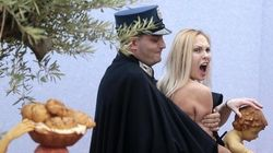 Femen a San Pietro: libera l'attivista arrestata a Natale