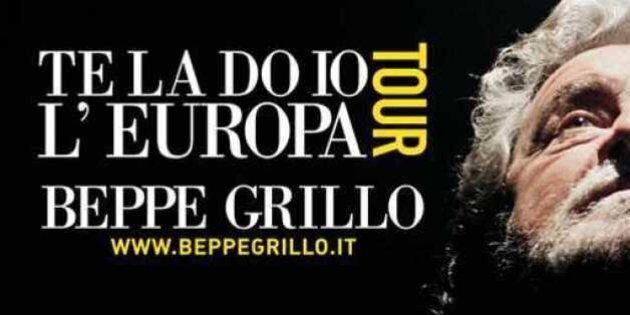 Beppe Grillo: lontano il sold-out per il