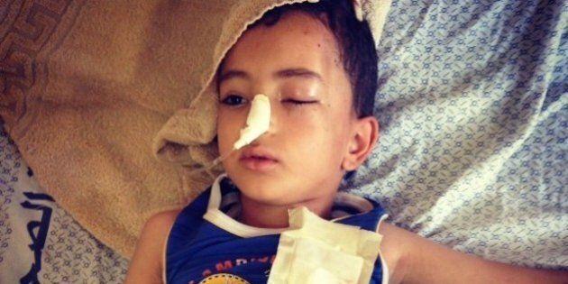 Gaza Israele: la tragedia dei bambini palestinesi colpiti dagli attacchi aerei
