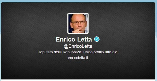 Enrico Letta potrebbe lasciare il Pd: sul profilo twitter è