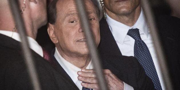 Silvio Berlusconi presenta alla Giunta delle elezioni la memoria difensiva nell'attesa del 4 ottobre