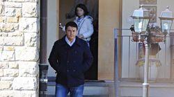 Renzi va a Messa senza scorta