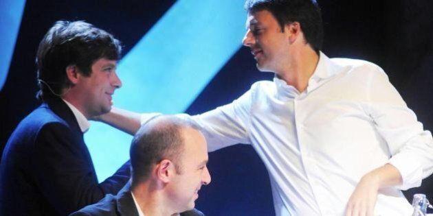 Giuseppe Civati sondaggio governo Matteo Renzi: vince il sì alla fiducia