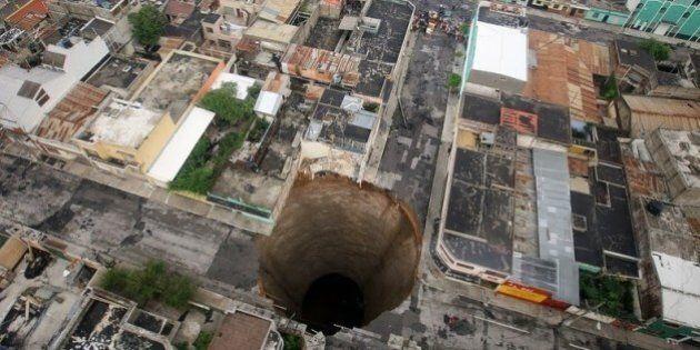 Buche: le foto dei crateri peggiori, da Guatemala City alla Cina