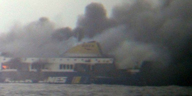 Norman Atlantic, traghetto in fiamme Igoumenitsa-Ancona. Ecco la lista dei