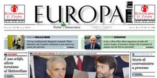 Europa Quotidiano, il Comitato di redazione respinge l'ipotesi chiusura a settembre: