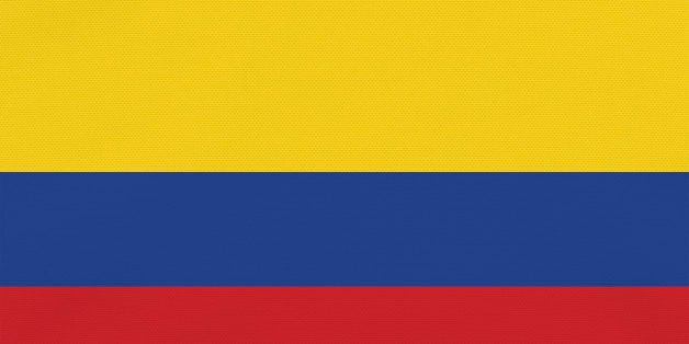 Flag of Columbia, full frame