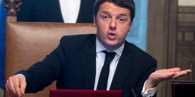 Matteo Renzi e Graziano Delrio lavorano al discorso al Senato: