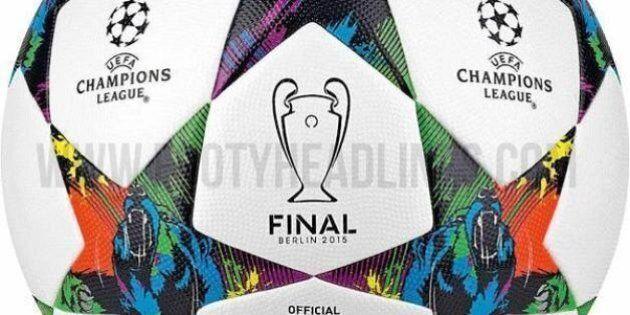 Finale Champions League 2015, svelato il pallone ufficiale: sarà un omaggio a Berlino