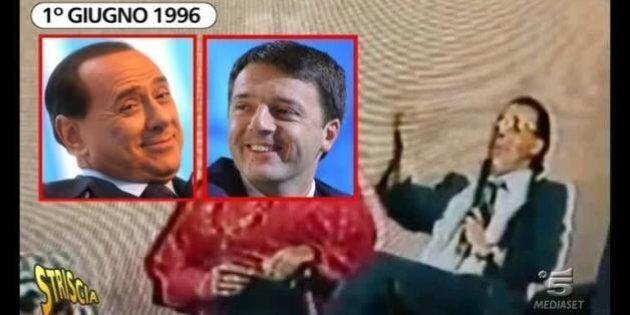 Matteo Renzi imita Silvio Berlusconi: alla festa parrocchiale di Rignano sull'Arno (FI) al