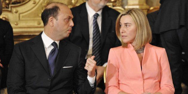 Governo Renzi, con la nomina di Federica Mogherini ad Alto rappresentante Ue, Angelino Alfano verso la...