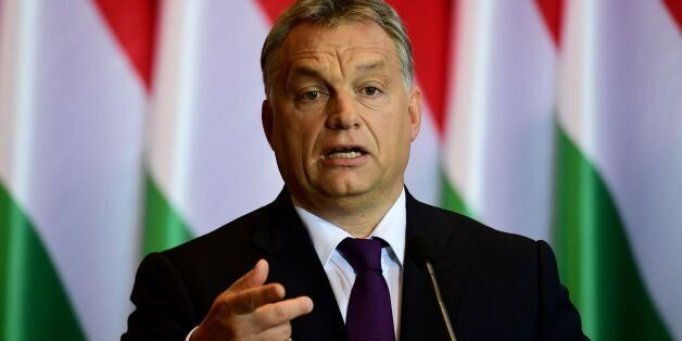 Hungarian Prime Minister Viktor Orban attends a press conference on the last weekand's referendum in Hungary in Budapest on O