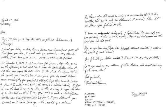 Jack Lo Squartatore, Gandhi, Hitler, la corrispondenza dei grandi della storia raccolta da Shaun Usher...