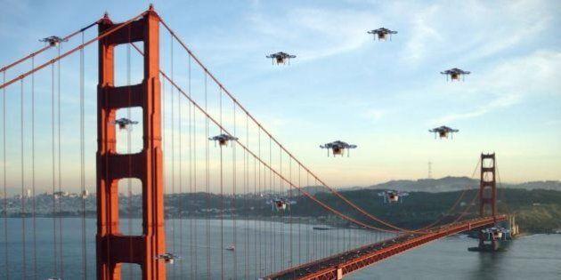 Amazon consegna con i droni. La rete si scatena in previsioni, battute e meme e su Twitter è trending...