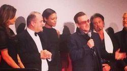 Gli U2 premiati da Elisabetta Canalis