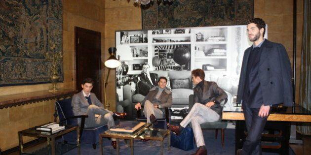 Milano moda uomo inverno 2014-2015, Tod's veste il