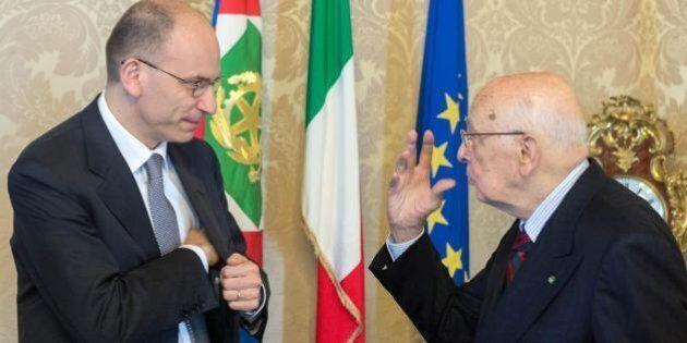 Enrico Letta sulla crisi del Governo: