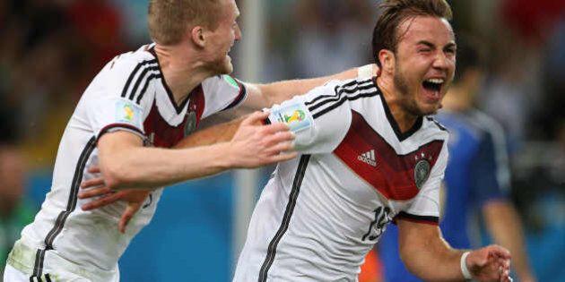 Germania Argentina 1-0 Mondiali 2014: la vittoria dei tedeschi è il premio alla programmazione (FOTO,