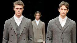 La nuova giacca di Armani? Somiglia a un cardigan