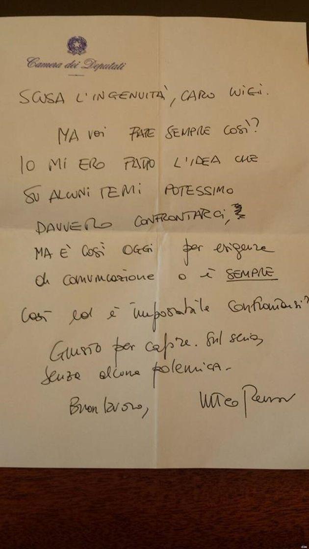 Carteggio Matteo Renzi-Luigi Di Maio: