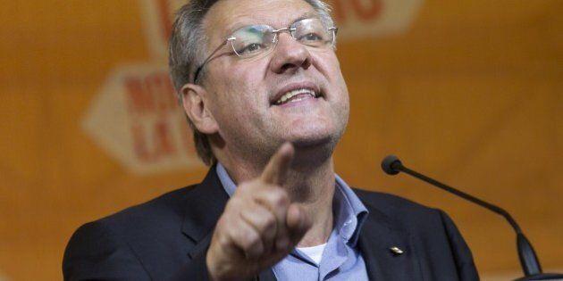 Jobs Act, Maurizio Landini al corteo Fiom di Milano promette un autunno caldo: