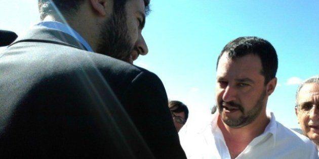 Salvini nella città di Sturzo non passa. Contestati lui e gli autonomo-leghisti