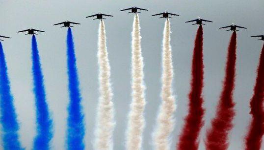 La grandeur francese in parata a