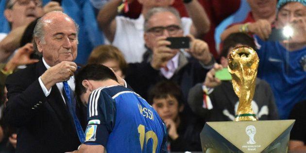 Germania Argentina finale Mondiali 2014, Joseph Blatter scarica Lionel Messi: