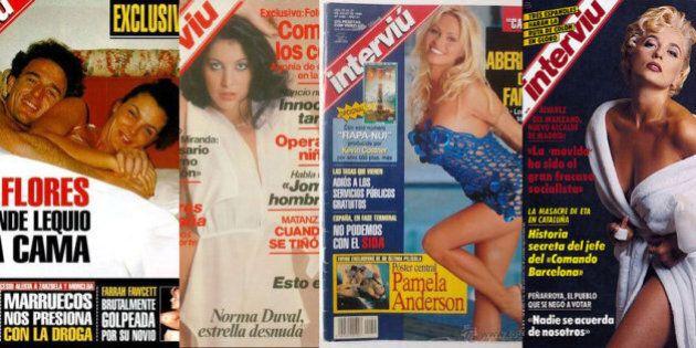 Interviù festeggia i 2000 numeri, dal 1976 una delle riviste più amate e lette di Spagna