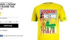 Le magliette che imbarazzano il Brasile