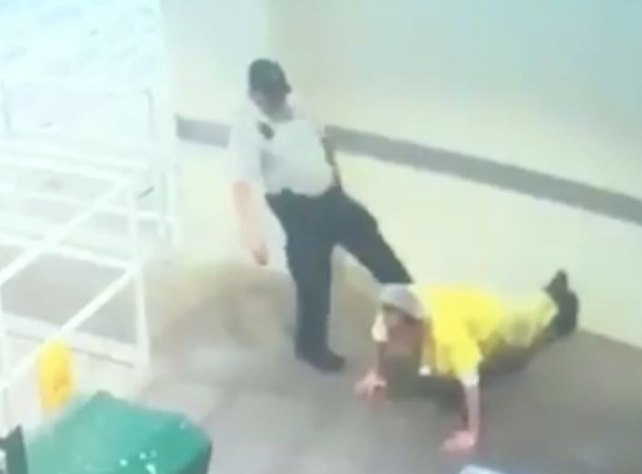 Florida Deputy Fired After Forcing Inmate To Do Pushups For Feeding Cookie To Bird