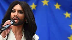 Il Parlamento europeo accoglie la trans Conchita