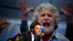 Parte la sfida finale tra Grillo e Renzi: