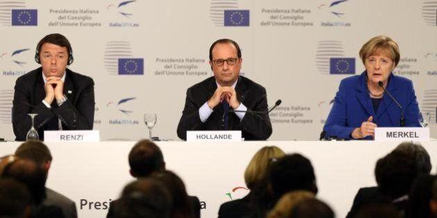 Vertice Ue sul lavoro, Matteo Renzi non può sfoggiare il Jobs Act ma incassa un'apertura da Angela Merkel...