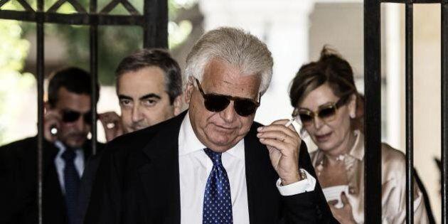 Credito cooperativo fiorentino, il coordinatore Denis Verdini e il parlamentare Massimo Parisi (Forza...