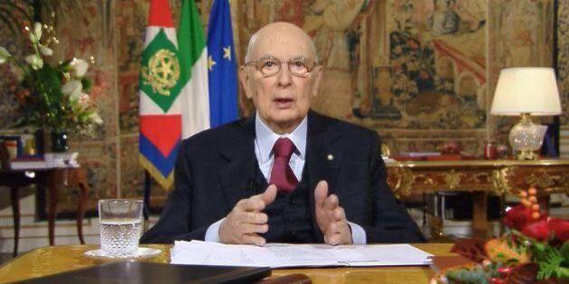 Giorgio Napolitano non lascia sereno, raccomandazione al successore: