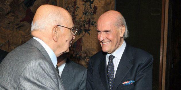 Umberto Veronesi, Napolitano lascia il Quirinale: