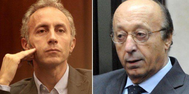 Marco Travaglio contro Luciano Moggi: