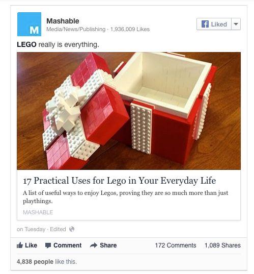 Facebook: il tag delle pagine e la possibilità di raggiungere milioni di