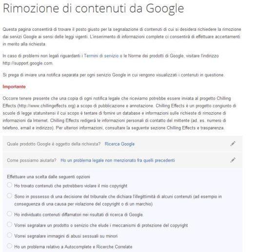 Come rimuovere un link da Google. La procedura per cancellare le proprie tracce dai risultati di