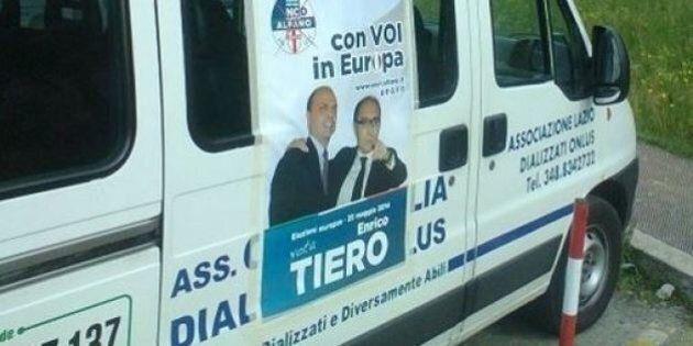 Manifesti elettorali di Ncd sulle ambulanze a Latina, Celeste Costantino di Sel chiede spiegazioni al...