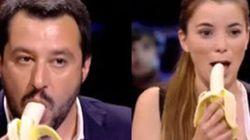 Ad Announo Cécile Kyenge regala banane a Salvini e