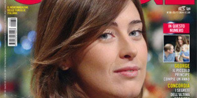Maria Elena Boschi sulla copertina di Oggi: la