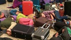 38 passeggeri diretti a Londra hanno davvero aspettato tutto questo tempo in