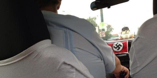 Tassisti nazisti. Espone la svastica come un trofeo nel suo yellow cab: sospeso. Ma Gabriel Diaz non...
