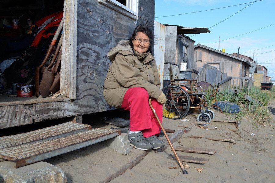 Quel villaggio ucciso dal clima che cambia Mentre il pianeta si riscalda, una remota cittadina dell'Alaska...