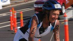 Non sareste in grado di battere questa suora di 84 anni al triathlon