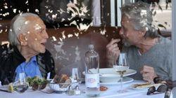 Michael Douglas, a pranzo con papà