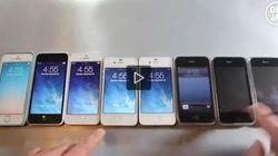 iPhone 5S, iPhone 5C, iPhone 5, iPhone 4S, iPhone 4... Le sei generazioni Apple a confronto (FOTO,